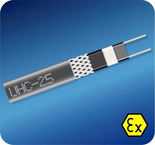 Саморегулирующийся кабель UHC-25 Ex (25 Вт)