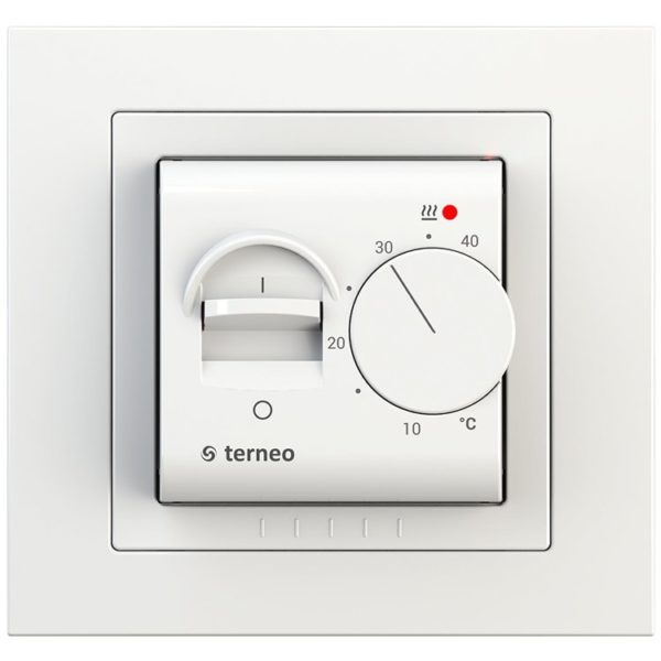 Терморегулятор terneo mex ivory
