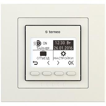 Терморегулятор terneo pro unic ivory